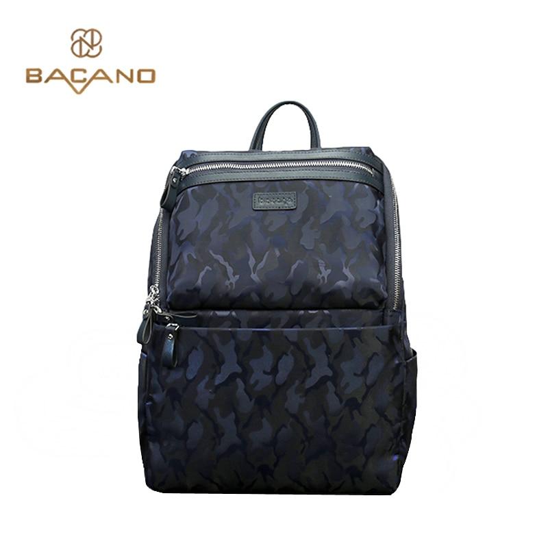 ФОТО Bacano High Quality Men's Backpacks Microfiber Synthetic Leather Backbag Fashion Men Daily Modern bags mochila masculina bolsa