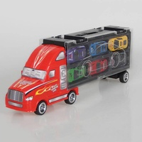 Simulation Container Truck 12pcs Racing Car Model Toys For Kids Birthday Present Toys Kids Educational Toys