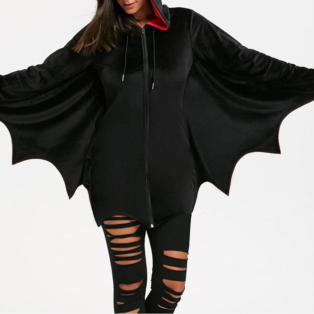 Adult Costume Bat Hoodie