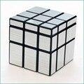 3x3x3 Cubo Mágico Puzzle Cubos Espejo Trefilado de Plata de Oro Blanco Negro Estilo Fundido Con Recubrimiento Especial juguete de Regalo Para La Educación