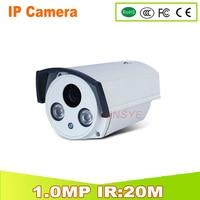 1280 720P 1 0MP ONVIF Waterproof Outdoor IR CUT Night Vision Plug And Play Mini Bullet