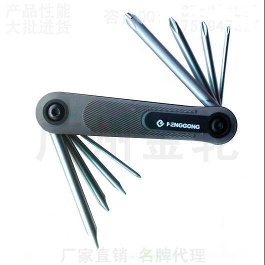 Trabalhadores Peng dobra oito chave de fenda chave de fenda chave de fenda-cross-ferramentas de carro e moto reparação