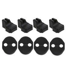 1Set Grade-A ABS Plastic  Car Door Lock Cover Stopper Protection For Mazda 2 5 6 Mazda CX-5 MX-5