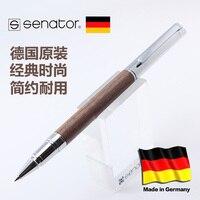 Senator Tizio Walnut Rod Metal Pen Roller Pen