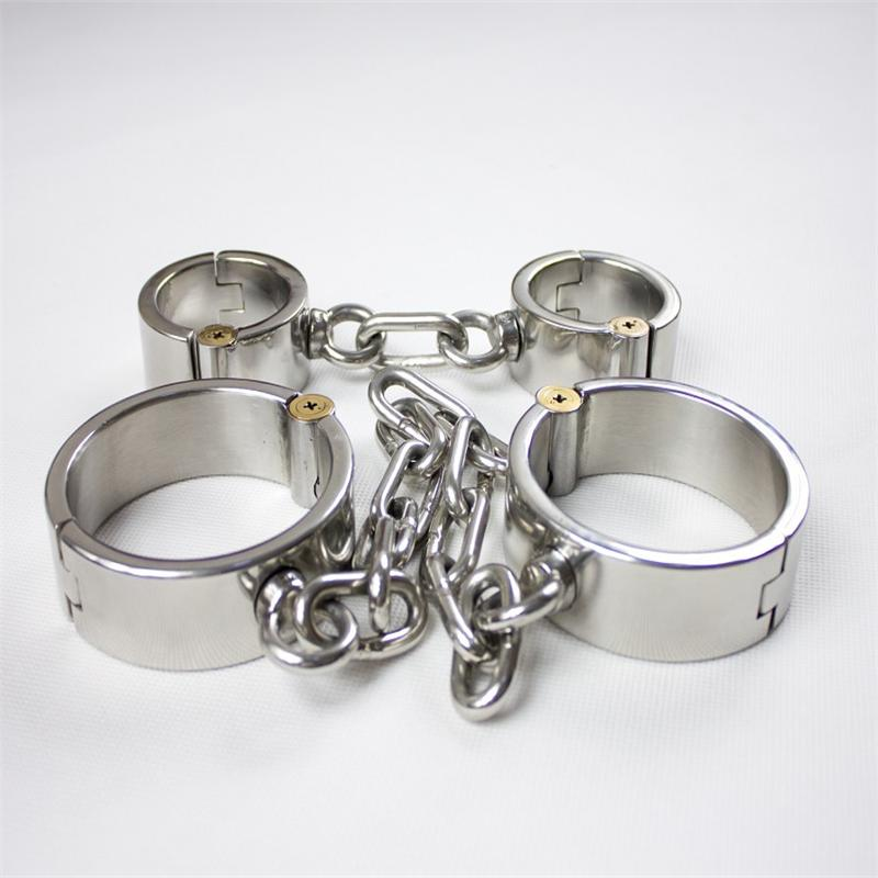 sex shop selling 2 pcs/set sexy legcuffs handcuffs sex slaves sex toys bdsm fetish bondage set sextoys adults for men and women. product sex shop hot heavy sex handcuffs adult sex slave games sexy sex toys bdsm fetish bondage harness set for men and women