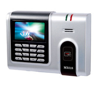 125K ID Card Time Attedance TCP/IP Card Time Clock Attendance Management For Employee With Free Software