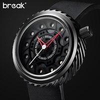 BREAK Mens Watches Top Brand Luxury Racing Motorcyle Sport Watcs Men S Gift Rubber Strap Casual