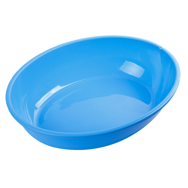 Oval Cat Random Solid Plastic Litter Box Pet Dog Large Tray Cleaning Tool Doggy Basin And Toilet Cat Loo With Shovel Hot 2 Size #3