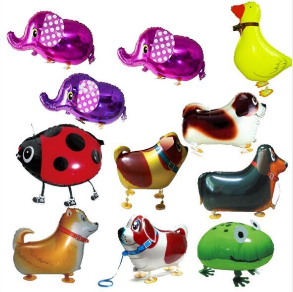 Good 2pcs Beetle Walking Balloon Animal Aluminum Foil Cartoon Cute Kids Toys Air Walkers Party Supplies Balloons Festive & Party Supplies