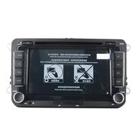 7 дюймов 2 Din автомобильный DVD gps радио Универсальный плеер для Volkswagen Golf/Bora/Поло Камера Media MP5 плеер 2din навигационная zk30