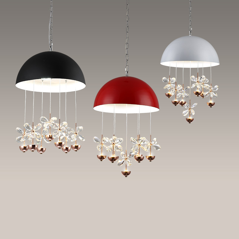 Pendant lights Led font b kitchen b font accessory four color screen iron retro loft ceiling