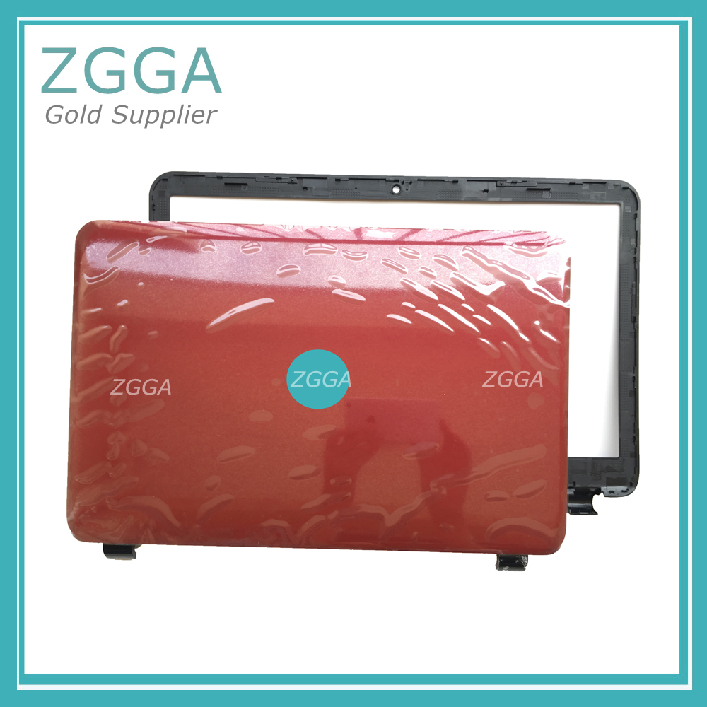 Genuine NEW Laptop Lcd Rear Lid Back Top Cover&LCD Front Bezel Frame Red 760964-001 for HP 250 255 256 G3 15-G 15-H 15-R 15-T куртка codered get high 2 cor темно синий s
