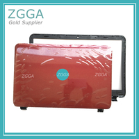 Genuine NEW Laptop Lcd Rear Lid Back Top Cover LCD Front Bezel Frame Red 760964 001