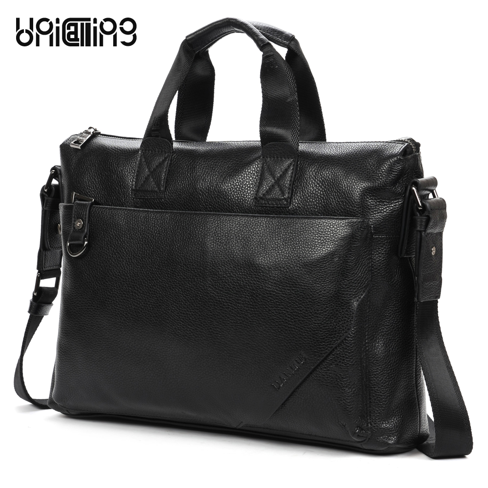 Brand high quality large capacity men genuine leather handbag casual leather laptop computer bag business men bag real leatherBrand high quality large capacity men genuine leather handbag casual leather laptop computer bag business men bag real leather