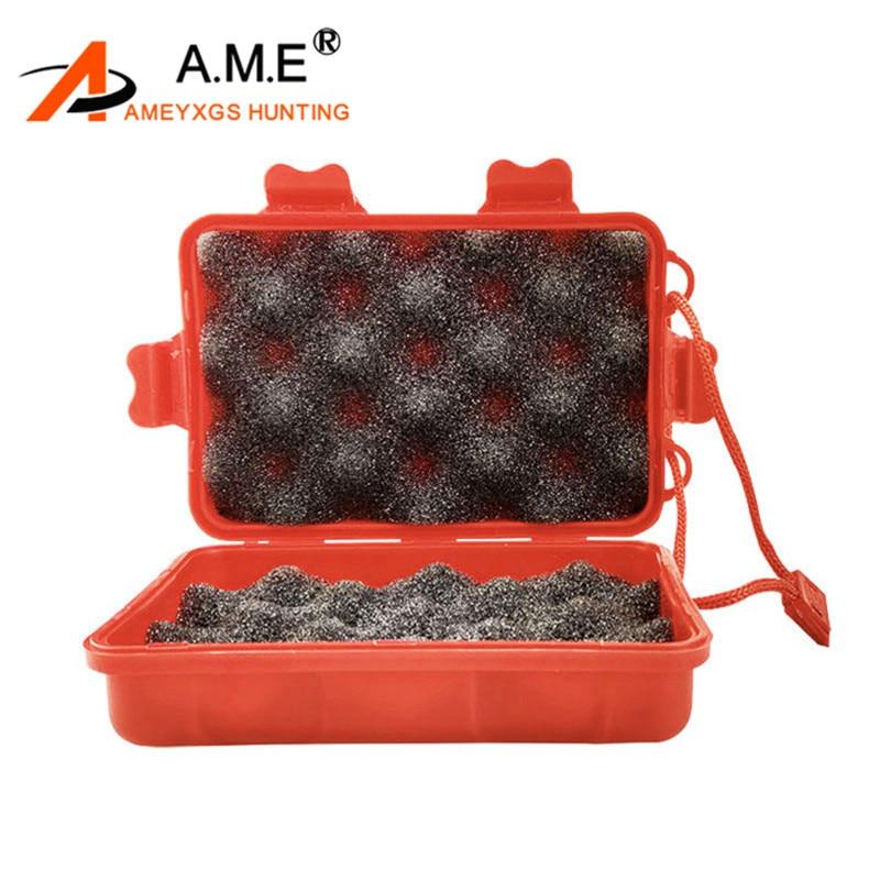 Broadhead Protector Cover Box Plastic Portable Case Arrowhead Holder