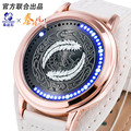 LED women watch festival Memorial Day gift ladies creative wristwatch brief design elegance fashion Digital lady watches