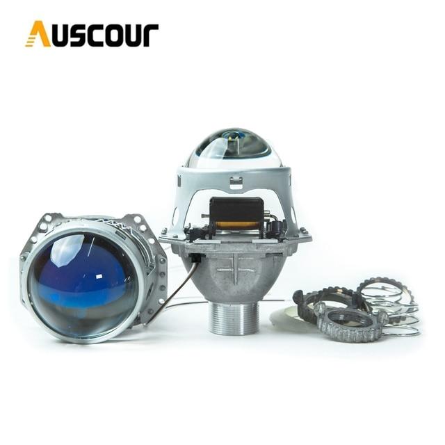 3.0 polegada H4 5 Hella Bixenon Retrofit da lente Do Projetor Do Farol Do Carro apto para D2S D2H xenon lâmpada kit de montagem de automóveis farol modificar