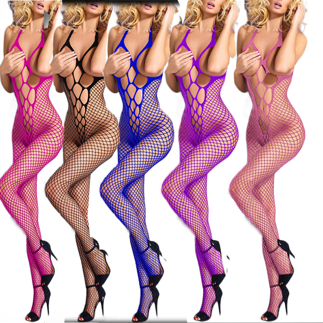 Leechee S001 Women sexy lingerie Fishnet Body stocking Open bra Hollow out cheaper Babydoll Erotic underwear Porn costumes