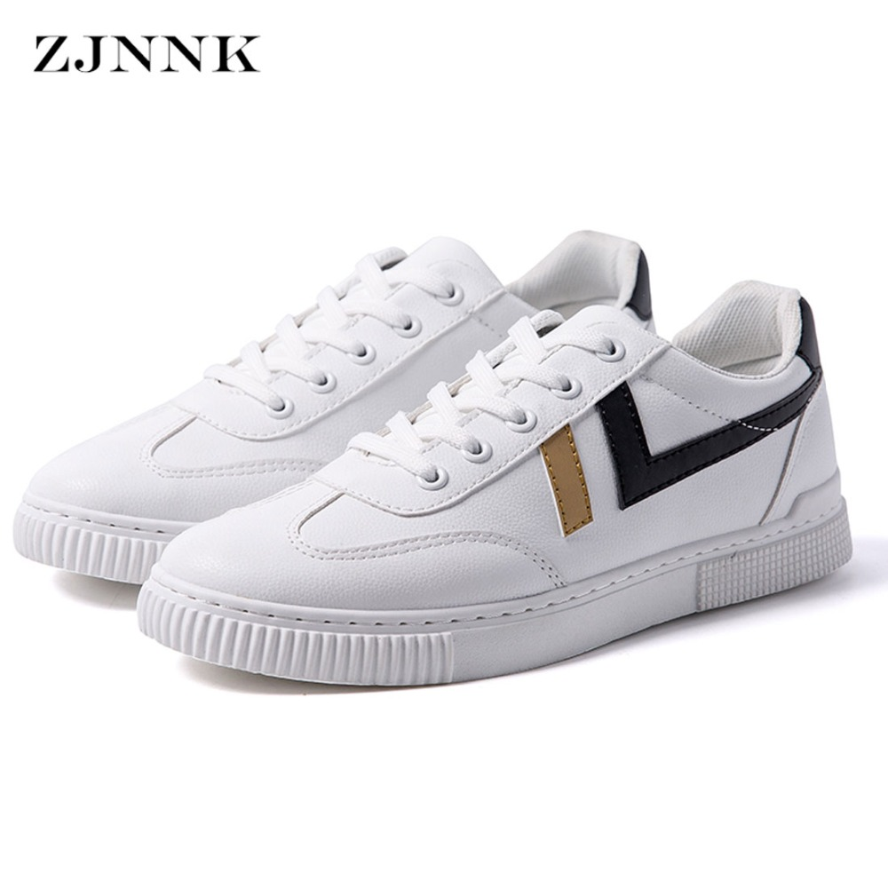 ZJNNK Korean Style Easy To Match Men's Shoes Fashion Men Casual Shoes Male Zapatillas Comfort Chaussure Homme Trendy Men Shoes