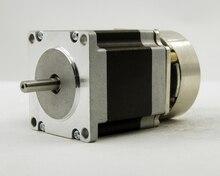 NEMA 23 размер 57 мм Шаговые двигатели с тормозом J57HB56-03 (DC24V) крутящий момент 0.9nm (129oz-в) длина кабеля двигателя 56 мм 3.0A