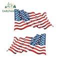 EARLFAMILY 13 см x 7,2 см Американский наклейки с флагами наклейки ветерана в стиле милитари Соединенные Штаты Декаль для автомобиля грузовика лодк...