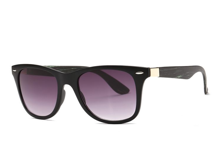AEVOGUE Men's Sunglasses Aritificial Wood Grain Temple Brand Design Summer Style Unisex Sun Glasses Vintage Oculos De Sol AE0327