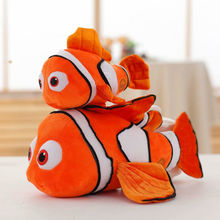 25/40/60cm Soft Nemo Clown Fish In The Animation Plush Toys Gift For Children