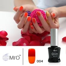MRO Light changeable color uv gel nail polish uv gel lucky gel nail lacquers esmaltes permanentes de uv nail glue vernis a ongle