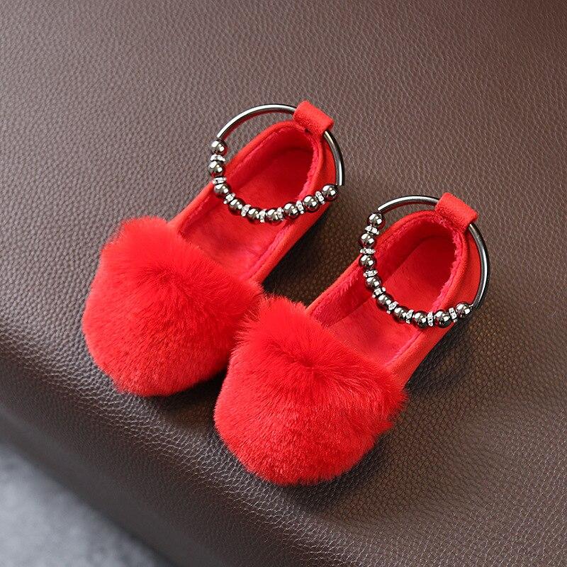 Bavoirsj Big Size Harig Nieuwe collectie Ronde Teen Baby Roze Casual - Baby schoentjes - Foto 2