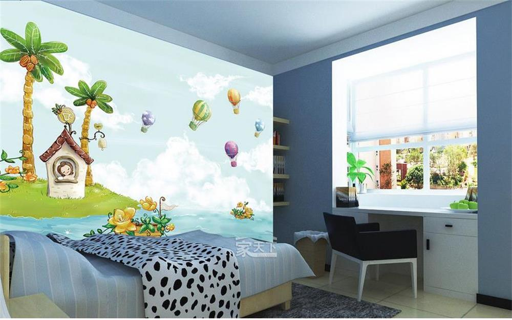 3D Wallpaper/custom Photo Wall Paper/Kidsu0027 Room/Hand Painted Dream Fly Girl/ TV/sofa/Bedroom/KTV/bar/Hotel/living Room In Wallpapers From Home  Improvement On ...