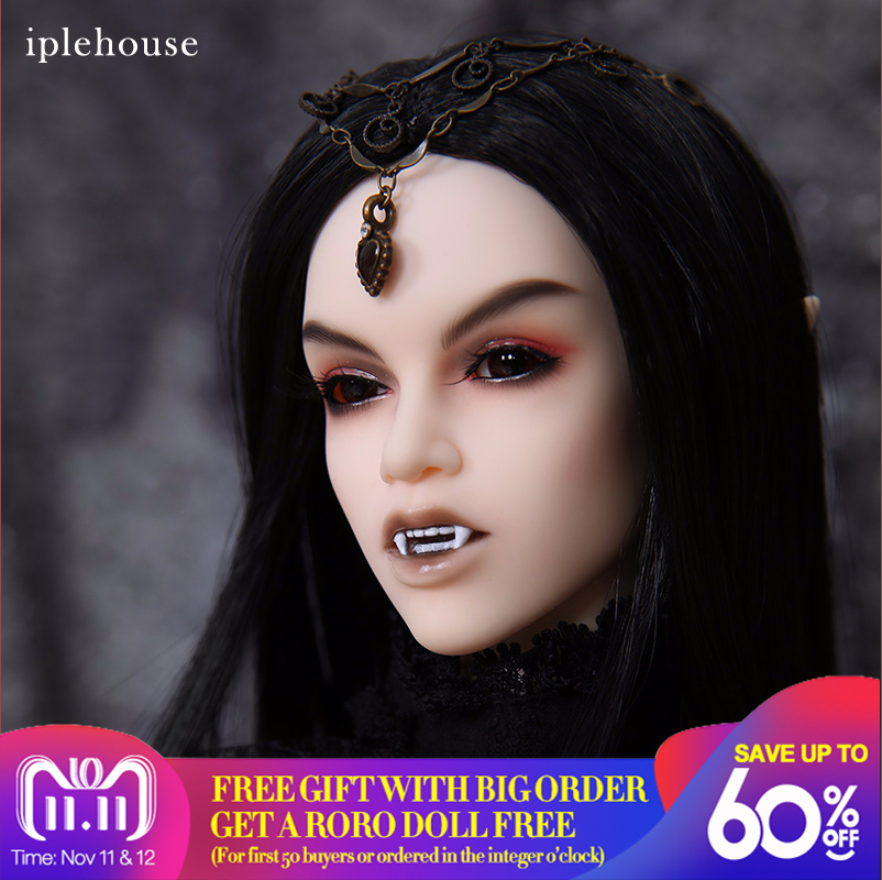 New Iplehouse IP Eid Aaliyah Vampire BJD SD Doll 1/3 Body Model High Quality Resin Toys For Girls Best Birthday Xmas Gift new arrival iplehouse ip eid chase bjd sd doll 1 3 body model boys high quality toys for girls birthday xmas best gifts