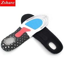 1 Pair Unisex Outdoor Soft Insoles Orthotic Arch Support Shoe Pad Insert Cushion for Men Womens Camping Hiking Beach Sports P-D
