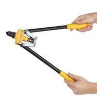 18 Double Core Pulling Universal Hand Riveter Professional Hand Rivet Gun Heavy Duty Riveting Hand Rivets