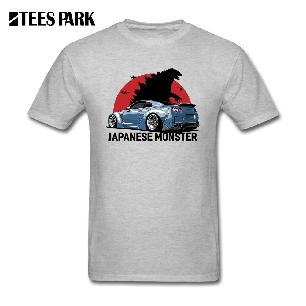 Nissan GTR Japanese Monster T Shirts Men's 100% Cotton ...