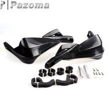 PAZOMA универсальная мотоциклетная черная щетка для рук для 22 мм-28 мм Yamaha Kawasaki Honda