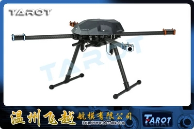 Tarot XS690 frame + 4 x 4108 400kv + 4 x hobbywing 40A + 4 x 1555 + Tarot 2 axis gimbal