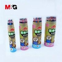 M & g 아트 컬러 연필 수채화 컬러 연필 전문 드로잉 학교 12/24/36/48 컬러 연필 lapices de artist supplies