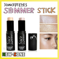 100% Brand New Moisture Shimmer Concealer Stick Face Body Highlight Makeup Highlighter Cream stick