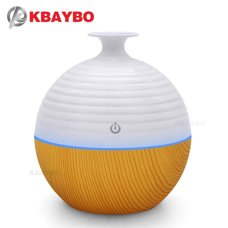 USB Ultrasonic Humidifier 130ml Aroma Diffuser Essential Oil Diffuser Aromatherapy mist maker with 7 color LED Light  USB Ultrasonic Humidifier 130ml Aroma Diffuser Essential Oil Diffuser Aromatherapy mist maker with 7 color LED Light