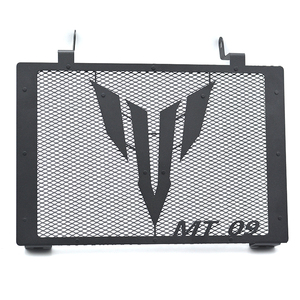 Motorcycle Radiator Guard W/ MT09 Logo Cover Protector Grille For Yamaha MT-09 MT 09 2014 - 2017 MT09 TRACER 2015 - 2016(China)