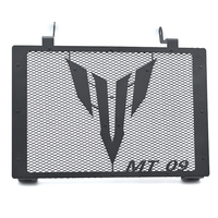 Motorcycle Radiator Guard W/ MT09 Logo Cover Protector Grille For Yamaha MT 09 MT 09 2014 2017 MT09 TRACER 2015 2016