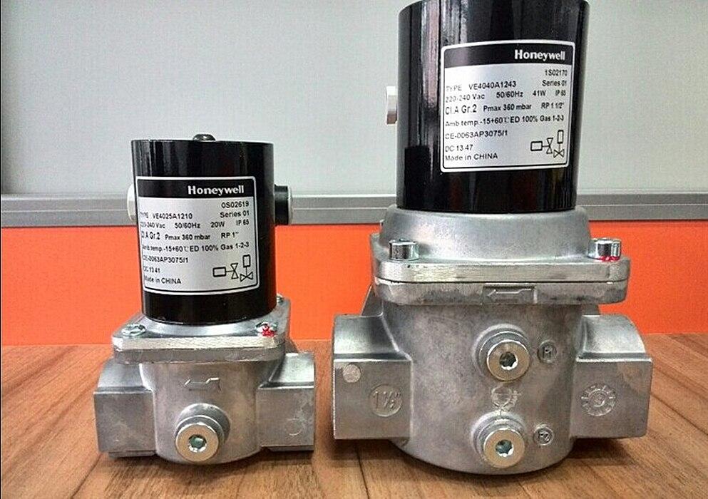 Honeywell электромагнитный газовый Клапаны ve4040a1243/ve4040a1003 для горелки новое и оригинальное