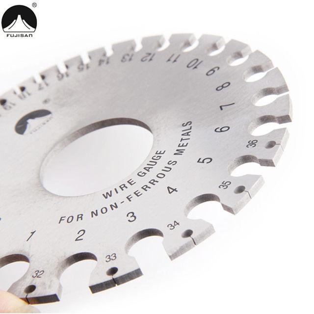 Stunning wire gauge tool images electrical diagram ideas online shop fujisan 0 36 round wire gauge weld diameter gauge keyboard keysfo Gallery