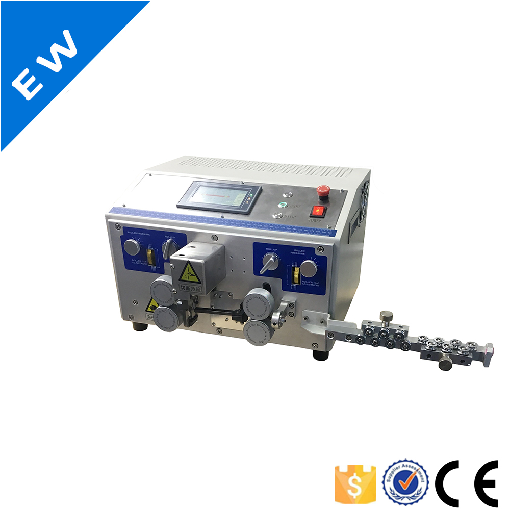 hight resolution of ew 04a wire machine wire stripper automatic wire stripping and cable cutting machine
