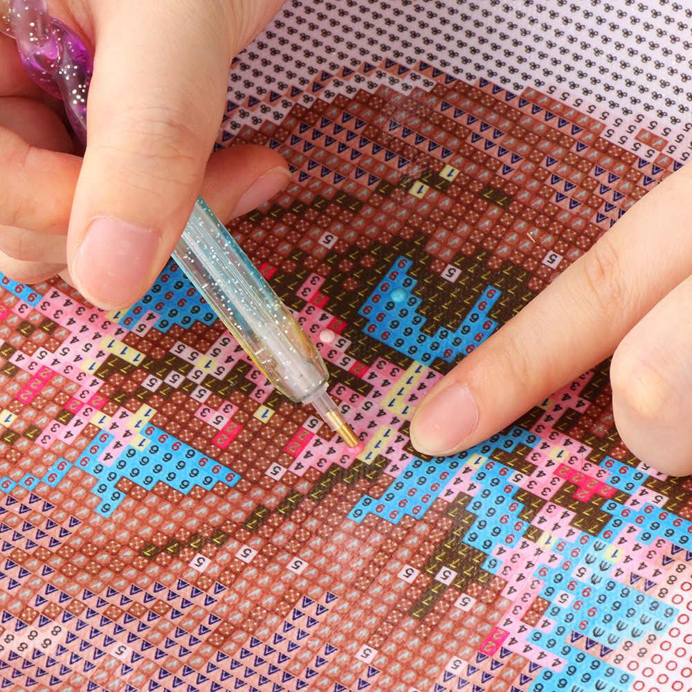 Сделай Сам пошивное ремесло инструмент для вышивки 5D круглая Алмазная точечная ручка-аппликатор живопись крест аксессуары для вышивания шитье домашнее хозяйство