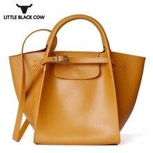 Brand Leather Handbag Women Big Shopping Bag Top
