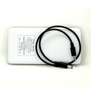 Image 5 - Портативный Регулируемый Мобильный Внешний аккумулятор 3,6 В, 5 В, 6 в, 9 В, 12 В, зарядное устройство, чехол с линией постоянного тока для камеры видеонаблюдения, сотового телефона, планшета