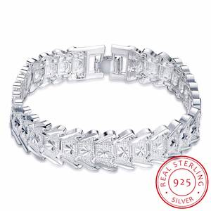 LEKANI 925 sterling silver Jewelry Bracelets for Women