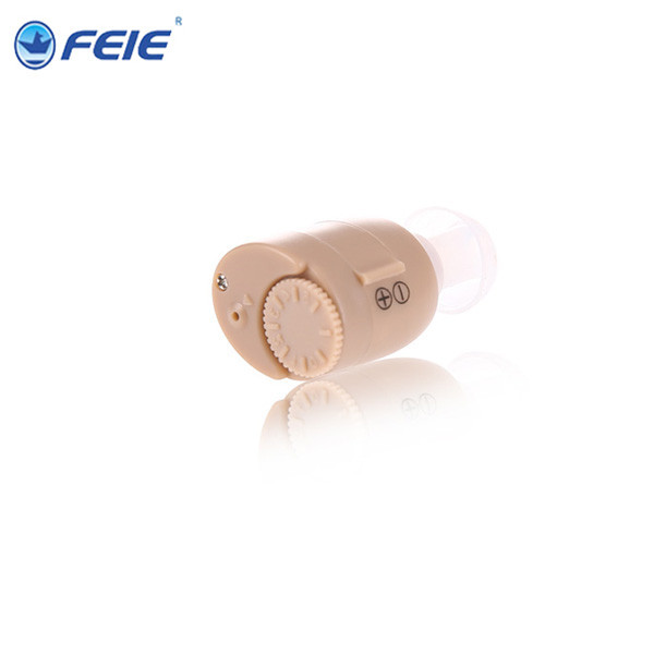 2016 Hot Selling Ite Hearing Aid Portable Small Mini In The Ear Invisible Sound Amplifier S-211 Adjustable Tone