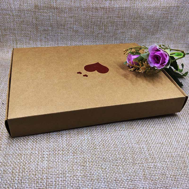 10pcs Happy Mather Day BOX Red Heart Bigger Extension Gift Box Wedding Favour White Rose Design cardboard Boxes 20x15x2.5cm